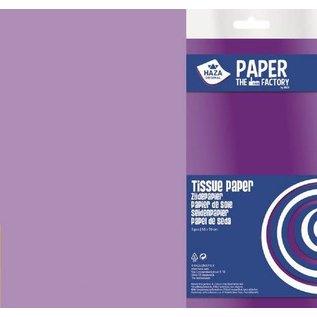 Haza Zijdevloeipapier lila 18gr 5VL 50x70cm