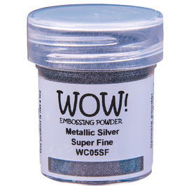 Wow Wow! Metallic Colours Silver Super Fine