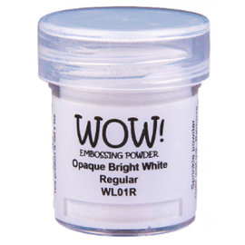Wow Wow! Opaque Whites Bright White Regular