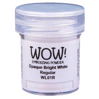 Wow Wow! Opaque Whites Bright White Regular