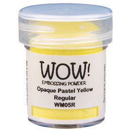 Wow Wow! Opaque Pastel Yellow