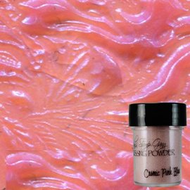Wow Lindy's Stamp Gang Cosmic Pink Blue Embossing Powder