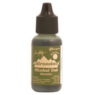 Ranger Adirondack alcohol ink refill  earthones meadow