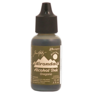 Ranger Adirondack alcohol ink refill  earthones oregano