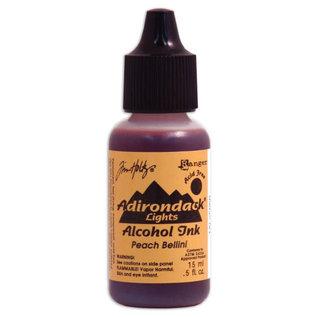 Ranger Adirondack alcohol ink lights Peach bellini