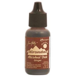 Ranger Adirondack alcohol ink  earthones ginger