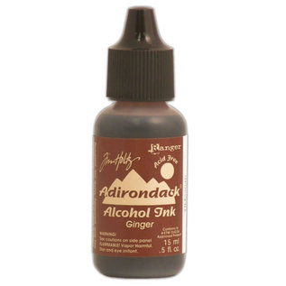 Ranger Adirondack alcohol ink open stock earthones ginger