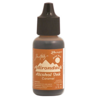 Ranger Adirondack alcohol ink open stock earthones caramel