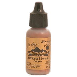 Ranger Adirondack alcohol ink metallic mixatives copper