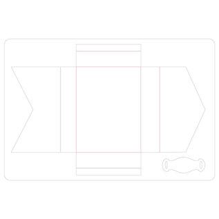 Sizzix Sizzix • ScoreBoards L die tiny book case