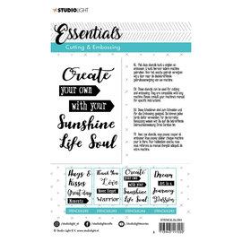 CraftEmotions Studio Light • Embossing die cut essentials nr.284