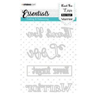 CraftEmotions Studio Light • Embossing die cut essentials nr.283