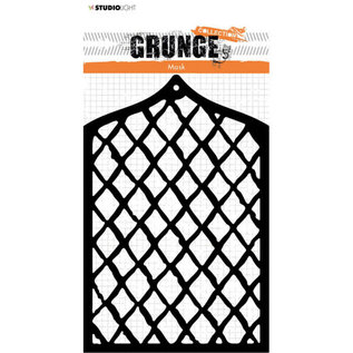 CraftEmotions tudio Light • Mask stencil A6 Grunge collection 4.0 nr.35