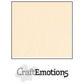 CraftEmotions CraftEmotions linnenkarton 10 vel zand30,0x30,0cm