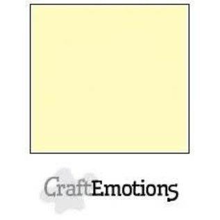 CraftEmotions CraftEmotions linnenkarton LICHTGEEL 30,0x30,0cm