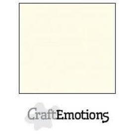 CraftEmotions CraftEmotions linnenkarton 10 vel ivoor 30,0x30,0cm