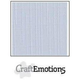 CraftEmotions CraftEmotions linnenkarton 10 vel klassiek wit 30,0x30,0cm