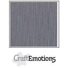 CraftEmotions CraftEmotions linnenkarton 10 vel graniet grijs 30,0x30,0cm