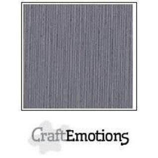 CraftEmotions CraftEmotions linnenkarton 1 vel graniet grijs 30,0x30,0cm