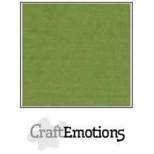 CraftEmotions CraftEmotions linnenkarton 1 vel mosgroen 30,0x30,0cm