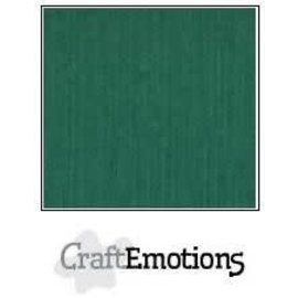 CraftEmotions CraftEmotions linnenkarton 1 vel kerstgroen 30,0x30,0cm