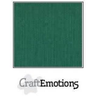 CraftEmotions CraftEmotions linnenkarton 10 vel kerstgroen 30,0x30,0cm