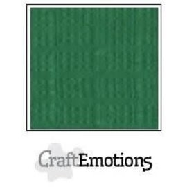 CraftEmotions CraftEmotions linnenkarton 10 vel loofgroen 30,0x30,0cm