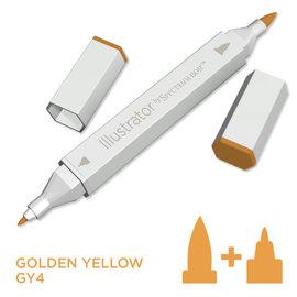 Spectrum Noir Illustrator -  Golden Yellow GY4