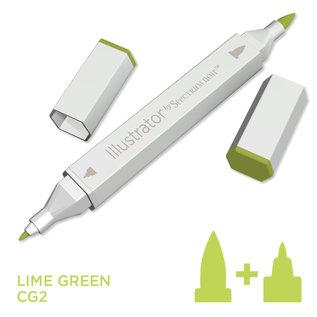 Spectrum Noir Illustrator - Lime Green  CG2