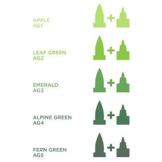 Spectrum Noir Illustrator - Emerald AG3