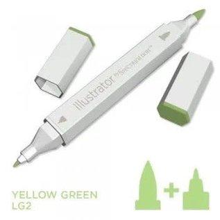 Spectrum Noir Illustrator - Yellow Green LG2
