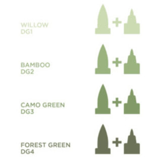 Spectrum Noir Illustrator - Bamboo  DG2