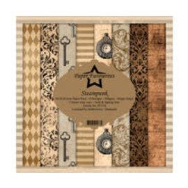 Steampunk 12x12 Inch Paper Pack