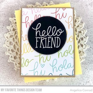 My Favourite Things Heap of Hellos Clear Stamps