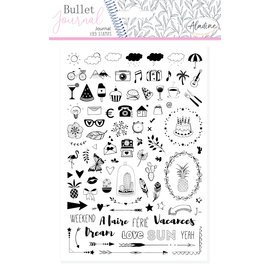 Aladine Bullet Journal Foam Stamps Journal