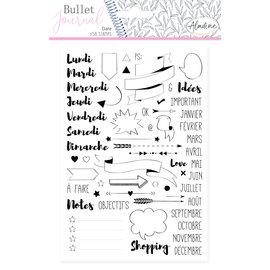 Aladine Bullet Journal Foam Stamps Journal  58st