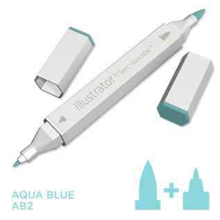 Spectrum Noir Illustrator -  Aqua Blue AB2