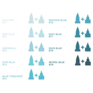 Spectrum Noir Illustrator - Duck  Blue   BT8