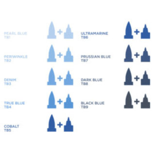 Spectrum Noir Illustrator - Black Blue TB8