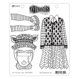 Ranger Ranger • Dylusions cling mount stamp The ties the limit!