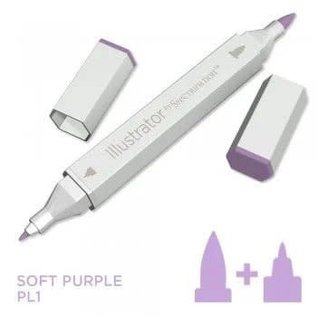 Spectrum Noir Illustrator - Soft Purple PL1