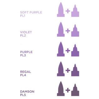 Spectrum Noir Illustrator -Damson PL5