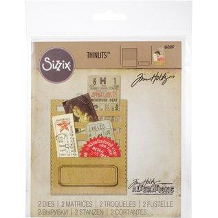 Sizzix Sizzix Thinlits Dies By Tim Holtz  Stitched Slots