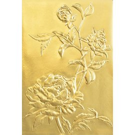 """Sizzix Sizzix Texture Fades Embossing Folder By Tim Holtz    """"Rozes"""""""