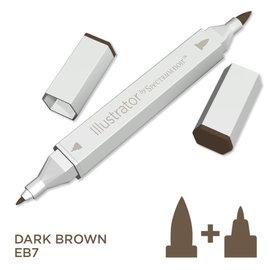 Spectrum Noir Illustrator - Dark Brown  EB7