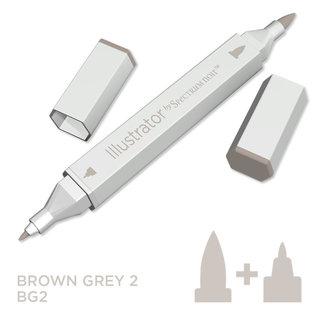 Spectrum Noir Illustrator - Brown Grey 2   BG2