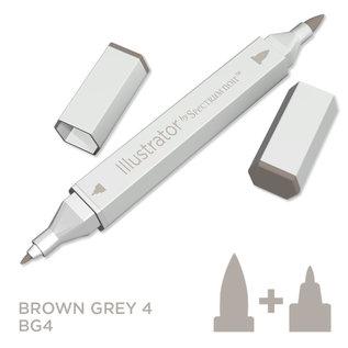 Spectrum Noir Illustrator - Brown Grey  4  BG4