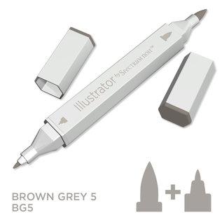 Spectrum Noir Illustrator - Brown Grey  5  BG5