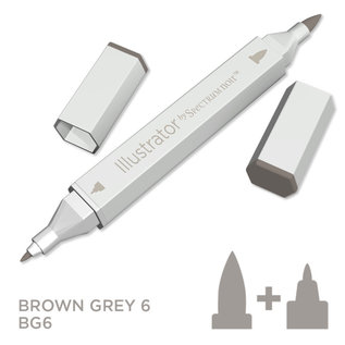 Spectrum Noir Illustrator - Brown Grey  6  BG6