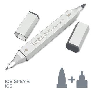 Spectrum Noir Illustrator - Ice Grey 6   IG6